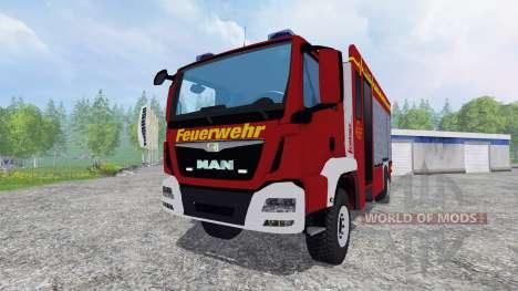 MAN TGM 14.250 Firetruck [blaulicht] für Farming Simulator 2015