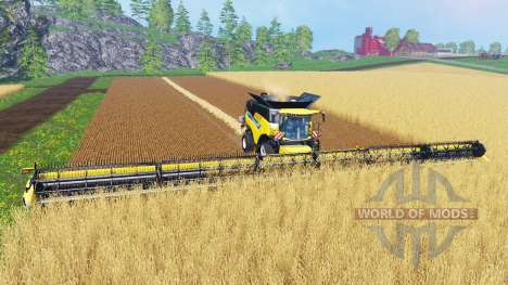 New Holland Super Flex Draper 45FT [38m] pour Farming Simulator 2015