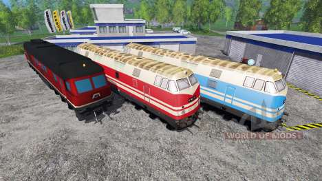 Les Locomotives pour Farming Simulator 2015