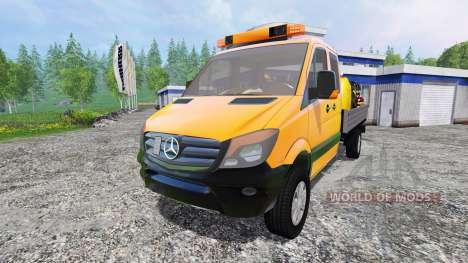 Mercedes-Benz Sprinter 316 Service pour Farming Simulator 2015
