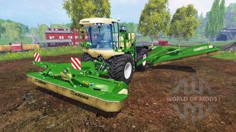 Krone Big M 500 v2.0 für Farming Simulator 2015
