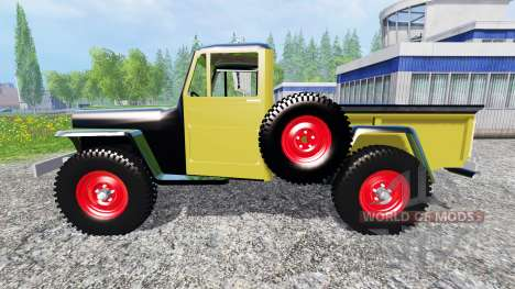 Jeep Pickup 1956 pour Farming Simulator 2015