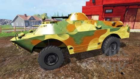BRDM-2 v0.1 für Farming Simulator 2015
