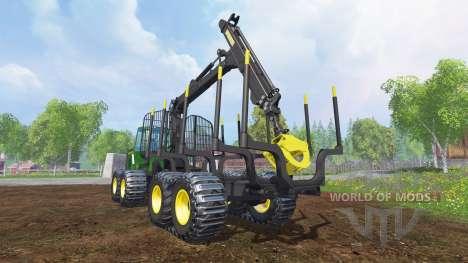 John Deere 1510E v2.0 pour Farming Simulator 2015