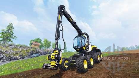 PONSSE Scorpion King v1.0 pour Farming Simulator 2015