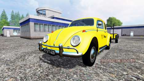 Volkswagen Beetle 1966 [Post Edition] v2.0 pour Farming Simulator 2015