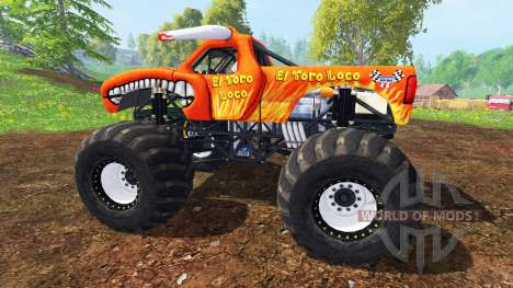 El Toro Loco pour Farming Simulator 2015