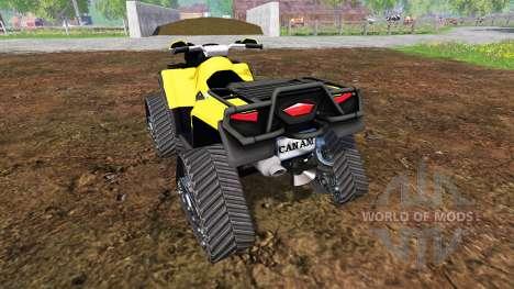 Can-Am Outlander 1000 XT [quadtrac] für Farming Simulator 2015