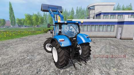 New Holland T6.160 v1.0.0 pour Farming Simulator 2015