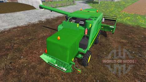 John Deere 9640 WTS v2.1 für Farming Simulator 2015