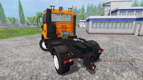 Mercedes-Benz Unimog U400 v1.1 für Farming Simulator 2015