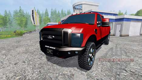 Ford F-250 2009 pour Farming Simulator 2015