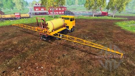 IFA W50 [sprayer] für Farming Simulator 2015