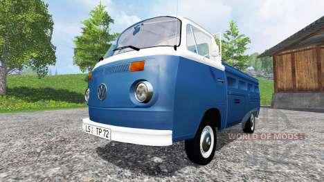 Volkswagen Transporter T2B 1972 v1.1 für Farming Simulator 2015