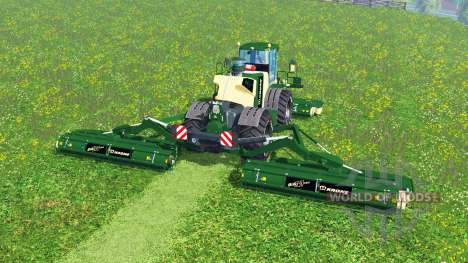 Krone Big M 500 [green and black] für Farming Simulator 2015