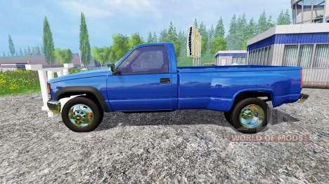 Chevrolet Silverado 3500 1994 [plow] für Farming Simulator 2015