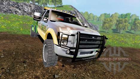 Ford F-350 [welding bed] v2.1 pour Farming Simulator 2015