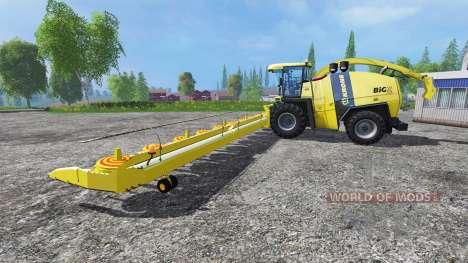 Krone Big X 1100 [Kemper Cutter] für Farming Simulator 2015