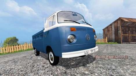 Volkswagen Transporter T2B 1972 v1.0 pour Farming Simulator 2015