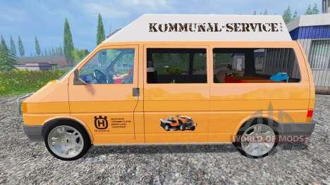 Volkswagen Transporter T4 Husqvarna Service pour Farming Simulator 2015