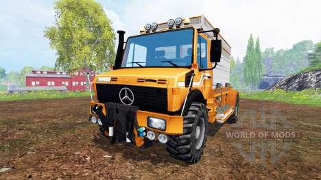 Mercedes-Benz Unimog [special] für Farming Simulator 2015