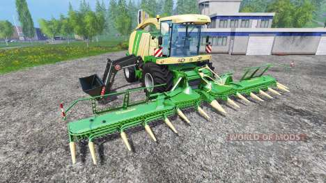 Krone Big X 1100 FL pour Farming Simulator 2015