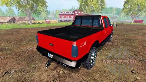 Ford F-250 2009 v2.0 pour Farming Simulator 2015