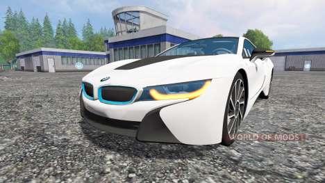 BMW i8 eDrive für Farming Simulator 2015