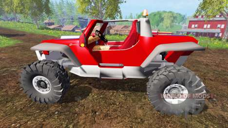 Jeep Hurricane Twin Hemi für Farming Simulator 2015