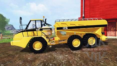 Caterpillar 725A [manure spreader] v2.0 pour Farming Simulator 2015