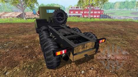 KrAZ-255 v2.0 für Farming Simulator 2015