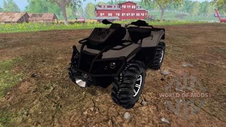 Can-Am Outlander 1000 XT [black] pour Farming Simulator 2015