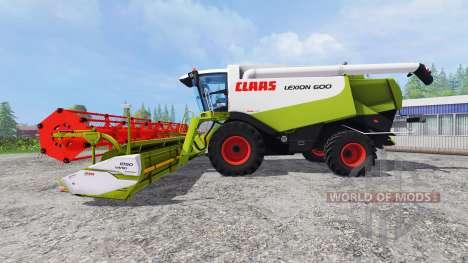 CLAAS Lexion 600 v2.0 pour Farming Simulator 2015
