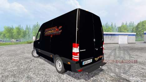 Mercedes-Benz Sprinter Service pour Farming Simulator 2015