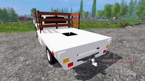 GMC Sierra 3500 [flatbed] v2.0 pour Farming Simulator 2015