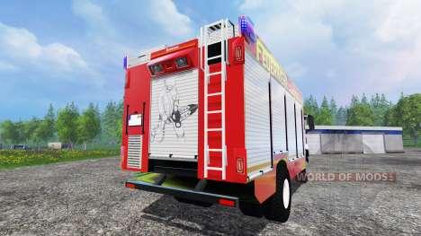 MAN TGM 14.250 Firetruck für Farming Simulator 2015