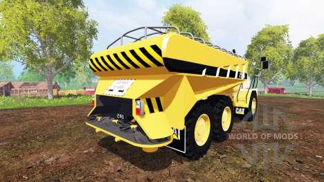 Caterpillar 725A [manure spreader] pour Farming Simulator 2015