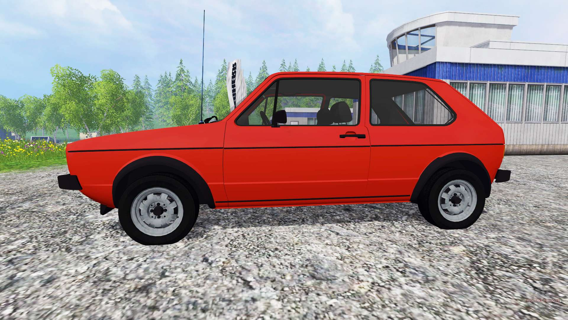 volkswagen golf i gti 1976 pour farming simulator 2015. Black Bedroom Furniture Sets. Home Design Ideas