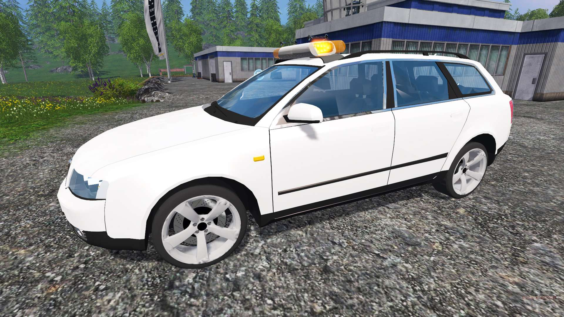 audi a4 avant b6 pour farming simulator 2015. Black Bedroom Furniture Sets. Home Design Ideas