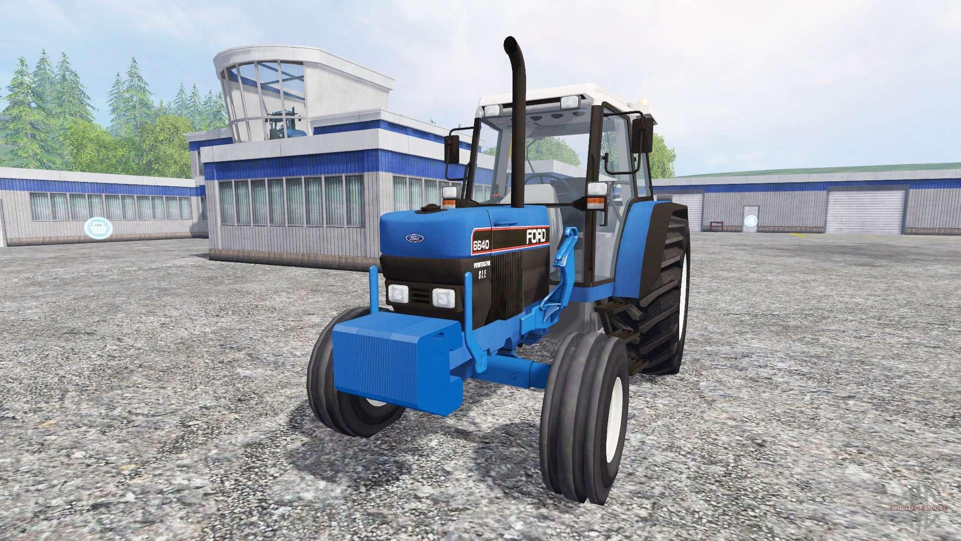 ford 6640 fl pour farming simulator 2015