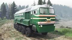 Locomotive Diesel De La M62 [03.03.16] pour Spin Tires