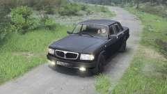 GAZ-3110 Volga [noir][03.03.16] pour Spin Tires
