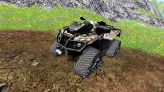 Can-Am Outlander 1000 XT [quadtrac camo]