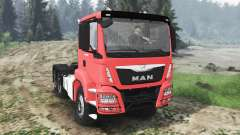 MAN TGS 26.480 6x6 [03.03.16] pour Spin Tires