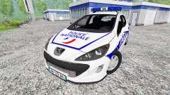 Peugeot 308 Police France