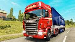 Des pages à colorier pour le trafic de fret pour Euro Truck Simulator 2