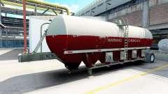 Semitrailer réservoir pour American Truck Simulator
