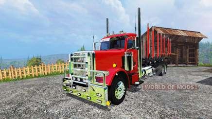 Peterbilt 388 [log truck] für Farming Simulator 2015