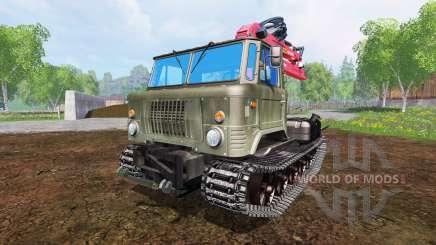GAZ-66 [skid] für Farming Simulator 2015