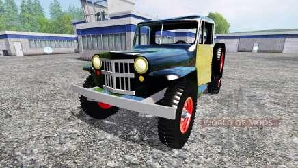 Jeep Pickup 1956 für Farming Simulator 2015
